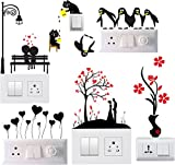 #9: Decals Sticker Switch Board Sticker Light Switches Sticker Combo Set of 6