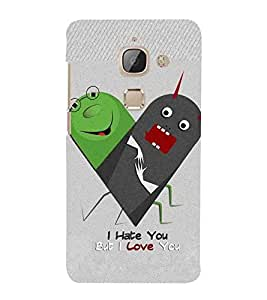 For LeEco Le 2 hate Printed Cell Phone Cases, love Mobile Phone Cases ( Cell Phone Accessories ), kids Designer Art Pouch Pouches Covers, cartoon Customized Cases & Covers, couples Smart Phone Covers , Phone Back Case Covers By Cover Dunia