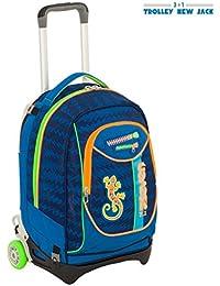 Seven- Trolley New Jack-Gecko Boy, Colore Blu, 201001846-535