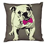 Air Castle- Home Decore- Polyester & Polyester Blend- Mr Tommy Cushion Cover best price on Amazon @ Rs. 789