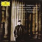 Brahms : Symphonie N�1 ; Beethoven : Ouverture Egmont