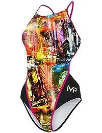 MP Michael Phelps Girls Phoenix Swimsuit Size 30