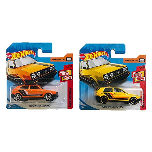 Hot Wheels Volkswagen Golf MK2 Then and Now Pack 2
