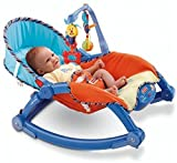 #1: The Flyer's Bay Newborn To Toddler Portable Rocker