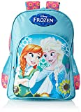 #8: Frozen Polyester Pink and Blue School Bag (MBE-WDP0657)