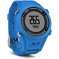 Garmin Approach S2 Montre GPS Bleu.