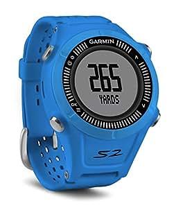 Garmin Approach S2 Montre GPS Bleu.