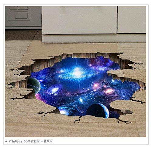 YUCH Mur De Papier Étoile Chambre Stickers Décoratifs