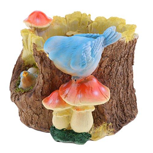 Sharplace Macetas de Plantas Miniatura Decorativo Herramientas de Jardinería Decoración Exterior - 1