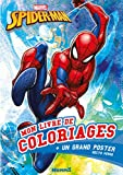 Marvel Spider-Man - Mon livre de coloriages + un grand poster