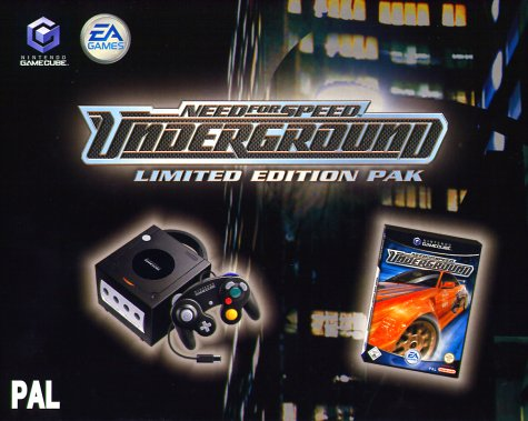 GameCube - Konsole black inkl. Need for Speed