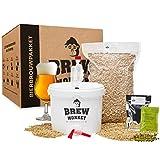 Brew Monkey® Basis Tripel bierbrouwpakket   bierbrouwset startpakket om zelf bier te brouwen in je eigen keuken   met verse ingrediënten   herbruikbare vergistingsemmer   origineel cadeau!