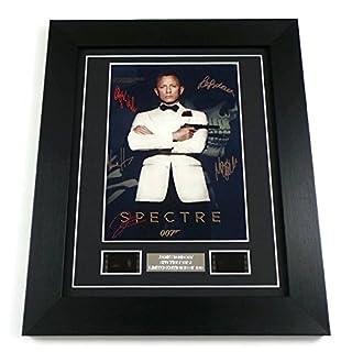 artcandi James Bond Spectre Movie Memorabilia Film Cell Framed