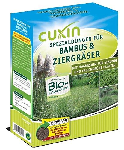Bio Gräserdünger für ca. 30 m² bzw. 60 Pflanzen⎜Dünger für Ziergräser, Bambus und Pampasgras⎜✅+Bodenanalyse-Gutschein 3,0 Kg
