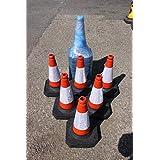 Speed ramps uk  - Cono de tráfico estándar (paquete de 6)