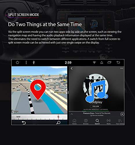 XTRONS-7-Android-Autoradio-mit-Touchscreen-Multimedia-Player-mit-Android-81-Octa-Core-Multimedia-Player-unterstzt-TPMS-WiFi-4G-Bluetooth50-2GB-RAM-16GB-ROM-DAB-OBD2-FR-BMW
