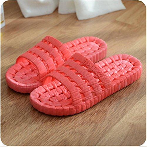 Ciabatte Pantofole da bagno antiscivolo da donna Facile da indossare e lavare 2 paia d