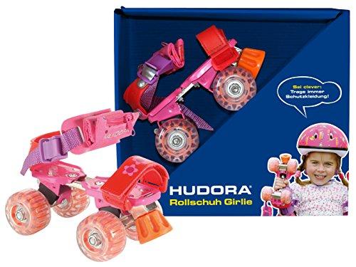 Preisvergleich Produktbild HUDORA Rollschuhe Kinder Mädchen Girlie, Gr. 21-31 - Roller-Skates, 22025