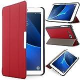 Samsung Galaxy Tab A 7.0 Funda - iHarbort® delgado ligero Funda de piel de cuerpo entero para Samsung Galaxy Tab A 7.0 (T280 T285), (Galaxy Tab A 7.0, Rojo)