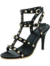 Agodor Destalonada Mujer  Zapatos de moda en línea Obtenga el mejor descuento de venta caliente-Descuento más grande