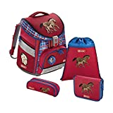 Step by Step Comfort Schulranzen-Set 4-tlg Horse Family horse family