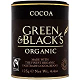Green & Black's Polvo De Cacao Orgánico De Comercio Justo (125g) (Paquete de 2)