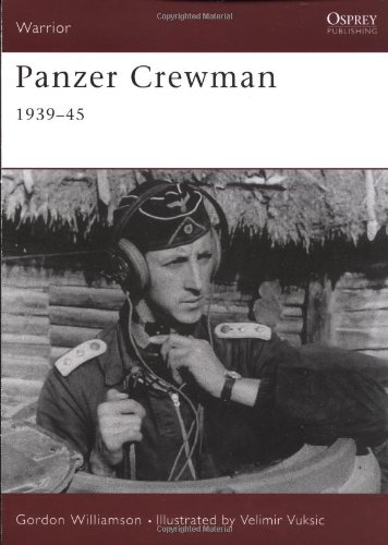 Panzer Crewman 1939-45: 1939-1945 (Warrior)
