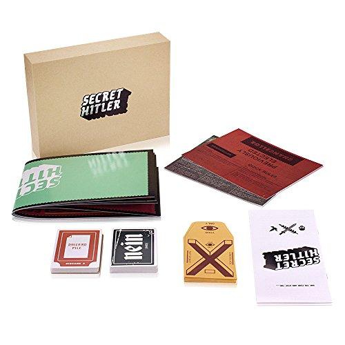 Cenblue Geheimer Hitler Brett Kartenspiel - Eine versteckte Identität Kartenspiele für Familienfreund-Party (Universal Model)