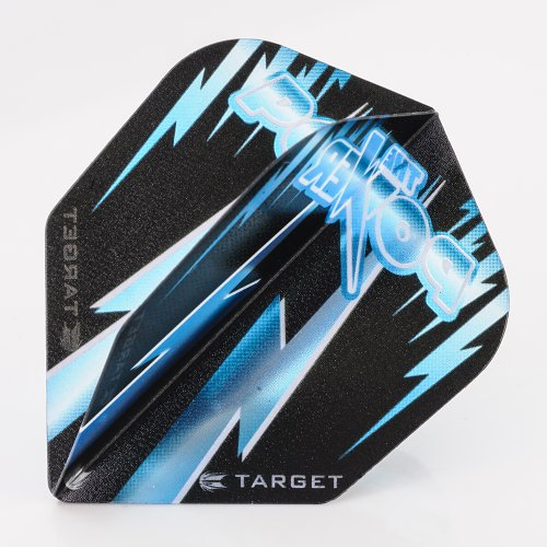 5 x Sets of Target Phil Taylor Vision Edge Standard Blue Dart Flights by PerfectDarts