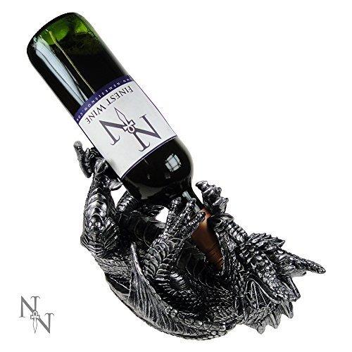Nemesis Now Guzzlers Dragon Skulpturen schwarz/Silber