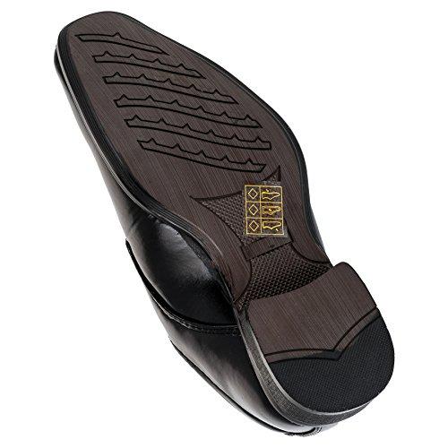 ALIZEA , Chaussures de ville à lacets pour garçon noir Schwarz EU #132sw Schwarz