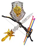 #4: HALO NATION Bahubali Warrior Set - Knights Fancy Dress Kids Cosplay - Bow Archery , Hand Armour , King's Sword & Shield