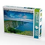 CALVENDO Puzzle Sehnsucht Irland Die Cliffs of Moher in County Clare sind eines der grandiosesten Naturschauspiele 1000 Teile Lege-Größe 64 x 48 cm ... Sehnsucht Irland - Éire (CALVENDO Orte)