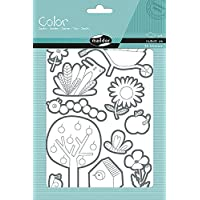 Maildor Color Stickers-Garden, Pack of 6 Sheets, paper Multicoloured, 24 x 16 x 0.4 cm