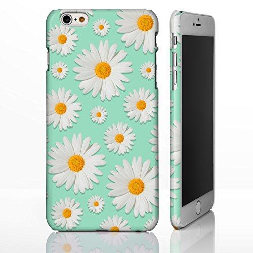 ster Fall für die iPhone Serie. Full Wrap Design Bezüge, Plastik, Design 1: Daisies on Mint Green, iPhone 5/5S/SE ()
