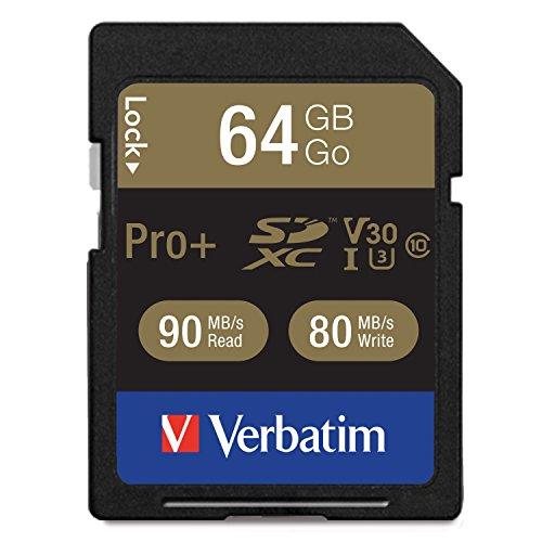 Verbatim 49197 pro+ sdxc class 10 uhs-i u3