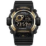 Adisaer Uhren Männer Wasserdicht Wasserdicht Herrenuhr Multifunktional Gold Outdoor Sportuhr Armbanduhr Automatikuhr