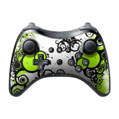 DecalGirl Nintendo Wii U Pro Controller Skin Aufkleber Design Sticker - Simply Green