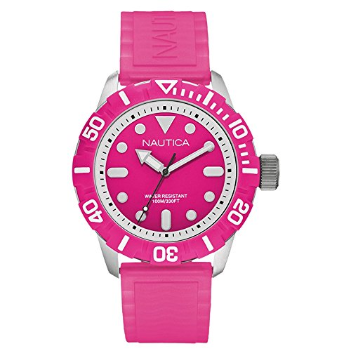 NAUTICA NSR 100 A09607G fashionable 10 ATM unisex diver's watch