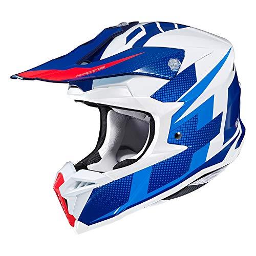 Preisvergleich Produktbild HJC 8804269584941 Helmet Argos White / Blue XL