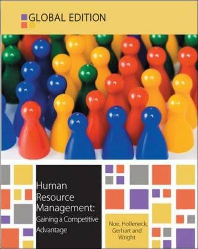 Human Resource Management: Gaining a Competitive Advantage PDF Books
