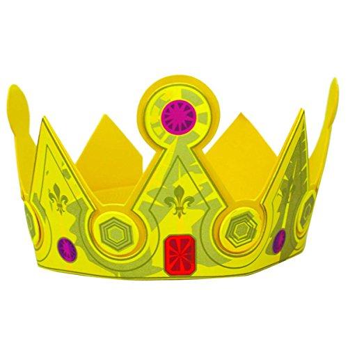 Unbekannt Le Coin des Enfants Le Coun des enfants21673King of Frankreich Historische Krone Spielzeug (One Size) (Frankreich Kostüm Schmuck)
