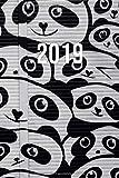 2019: Jan - Dez Wochenplaner | 365 Tage Terminkalender mit Uhrzeit | 1 Tag auf 1 Seite, ca. A5 | Street Art Panda