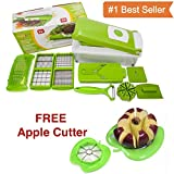#9: Genius nicer slicer plus 12 cutting blade with apple cutter
