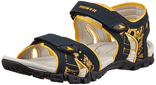 Power Men's Cosmos Blue Flip Flops Thong Sandals - 8 UK/India (42 EU) (8619436)