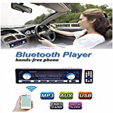 AUDEW Auto Radio Coche Bluetooth Estéreo In-Dash AUX USB SD Reproductor Audio MP3