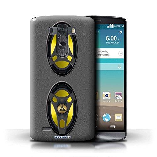 Kobalt® Imprimé Etui / Coque pour LG G3/D850/D855 / Amplificateur conception / Série Haut-Parleur dessin Autoradio