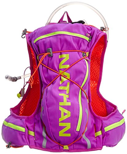 Nathan vaporshadow Race Vest mit 2L Blase–Frauen Serie Purple Cactus Flower/Tangerine