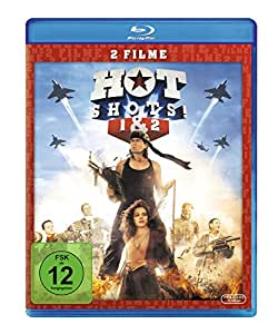 Hot Shots 1+2 [Blu-ray]: Charlie Sheen, Valeria Golino, Lloyd Bridges, Jim Abrahams