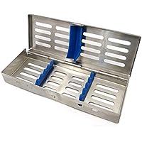 DACHS Dental Instrumenten-Tray Containerkasette für 5 Instrumente 180 x 65 x 22 mm